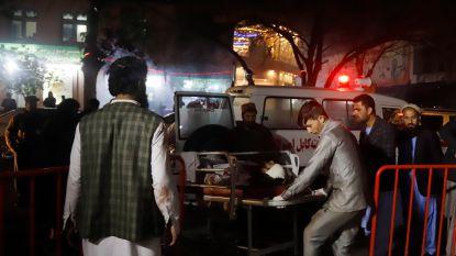 Zeker 50 doden en 72 gewonden bij zelfmoordaanslag in Kabul