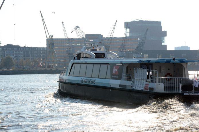 De Waterbus vaart nu tot Kruibeke en Hemiksem. De gemeentebesturen van Temse en Bornem pleiten al langer voor de doortrekking.