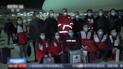 Team van Chinese experten zakt af naar Italië om coronavirus mee te helpen bestrijden