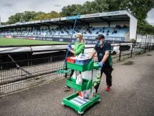 Profvoetbal in tijden van corona bij FC Eindhoven: 'Weet jij waar het draaiboek van de wedstrijd ligt?'
