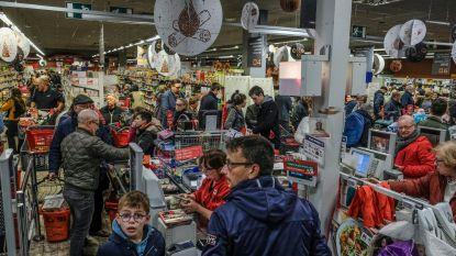 Stormloop naar uitverkoop Delhaize Sint-Rochus: ruim 2.000 klanten