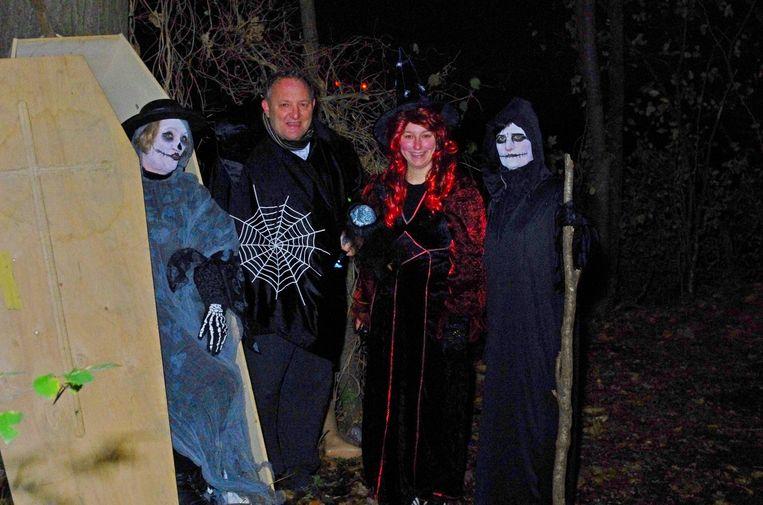 De Halloweentocht van SK Nossegem vindt voor de tweede keer plaats.
