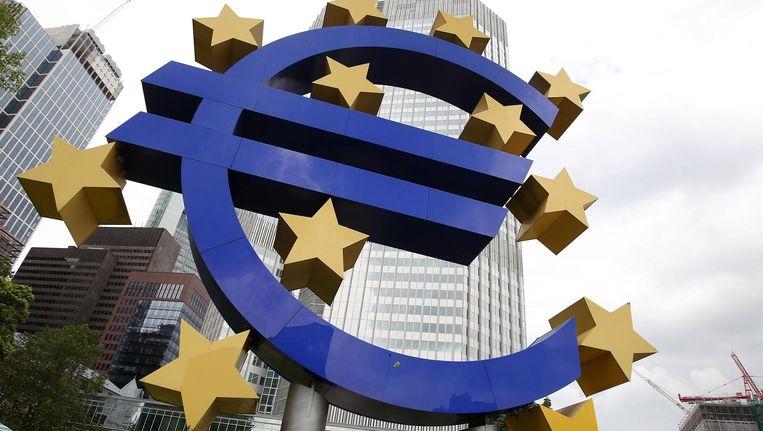 De Europese Centrale Bank. Beeld null