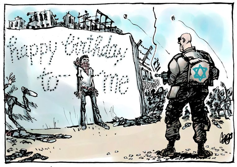 Jos Collignon israel 50 21 april Beeld Jos Collignon