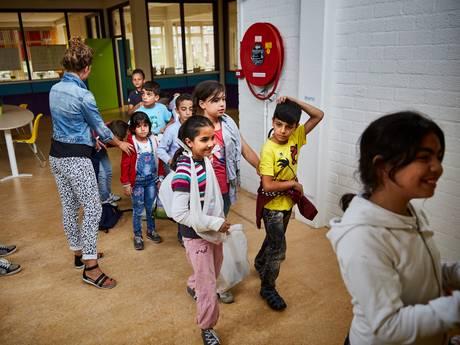 Gros van de vluchtelingen in de bijstand