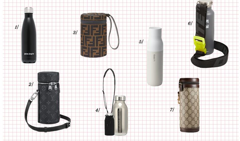 Een designer drinkfles of houder? Dit zijn enkele mogelijkheden.