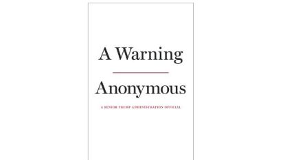 Anonieme regeringsmedewerker VS brengt explosief boek uit over Trump
