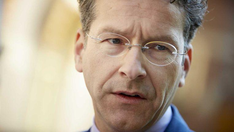Jeroen Dijsselbloem, voorzitter van de eurogroep.