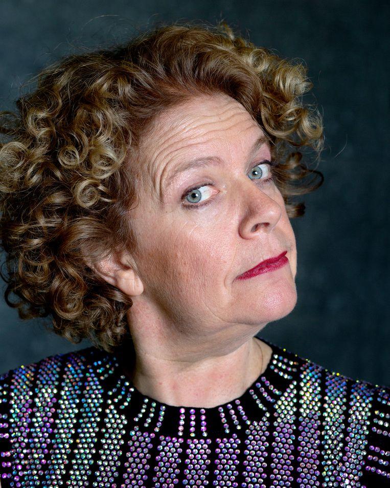 Brigitte Kaandorp: 'Ik ben heel lang eenzaam geweest. Totdat ik Jan leerde kennen.' Beeld Maartje Geels