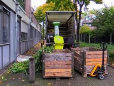 Hennepkwekerij opgerold in flatgebouw in Enschede