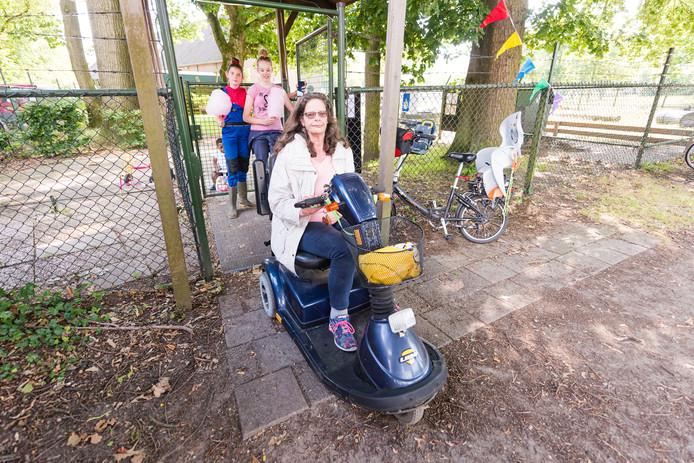 De kinderboerderij in Zeist is voor iedereen toegankelijk.