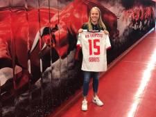 Voetbalster Melanie Gerrits uit Nieuwleusen stapt bij RB Leipzig in bij een ambitieus project