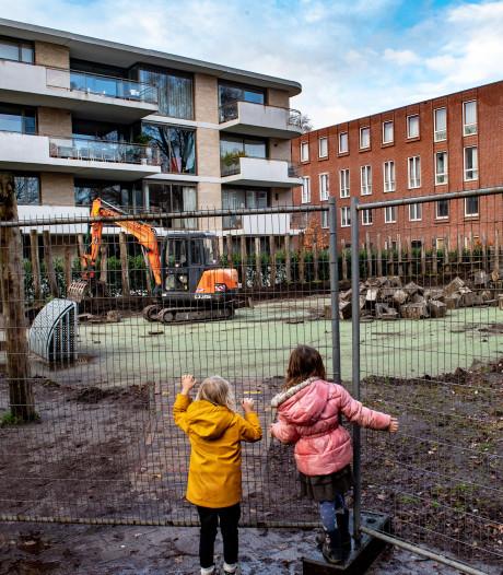 Ontmanteling van voetbalveldje De Buut in Nijmegen is begonnen