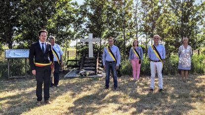 Intieme herdenkingsplechtigheid voor gesneuvelde soldaten van de Stadenberg