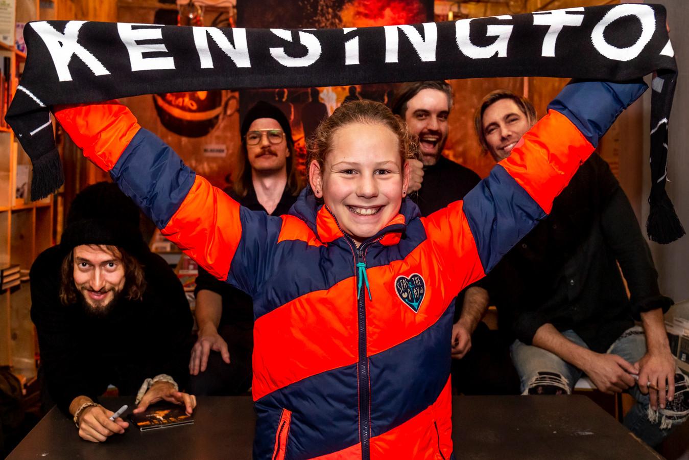 Vivian Nettenbreijers(10) uit Den Bosch is al jaren fan...en was erbij!
