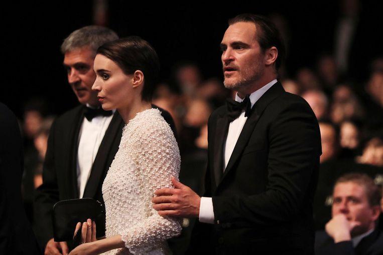 Met zijn grote liefde Rooney Mara