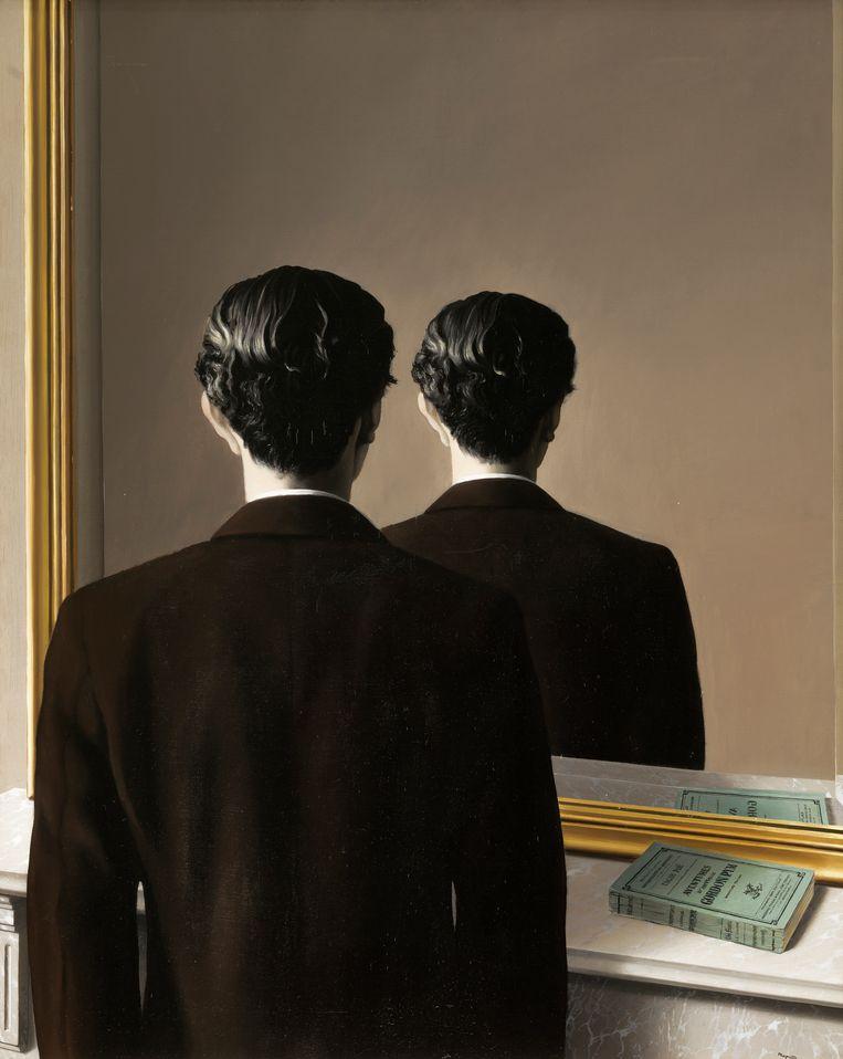 René Magritte, La reproduction interdite (Verboden af te beelden), 1937. Beeld Museum Boijmans Van Beuningen Rotterdam