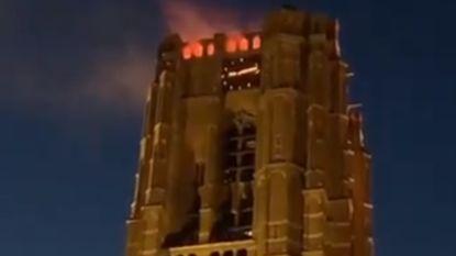 'Paasvuur' op Nederlandse basiliek te realistisch: mensen uit omgeving bellen massaal brandweer