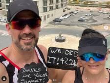 À Dubaï, un couple a couru un marathon sur son balcon