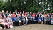 Jubilerende koppels vieren feest in Strijboshof