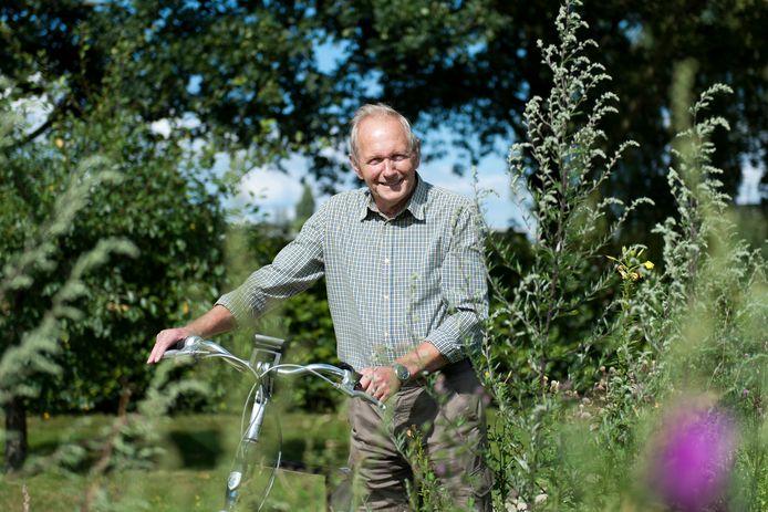 Ben Wichers Schreurs uit Heeten heeft een nieuwe fietsroute gemaakt.