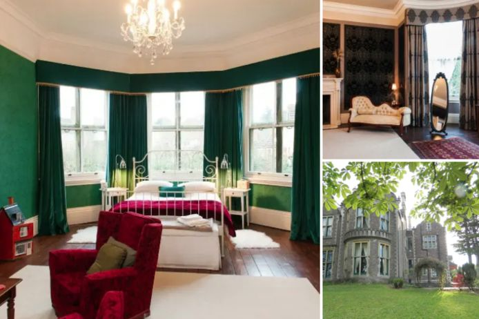 Deze villa was te zien in 'Sherlock'.