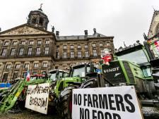 Trotse boeren op de Dam: 'Vandaag geven we alles weg'