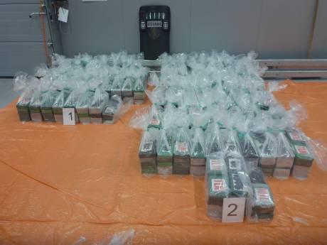 Douane vindt 800 kilo cocaïne tussen bananen in Rotterdamse haven