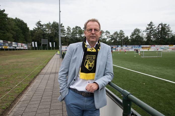 Aarts Goossensen, voorzitter van DVS'33 dat tegen Willem II zou moeten spelen in het KNVB-bekertoernooi.