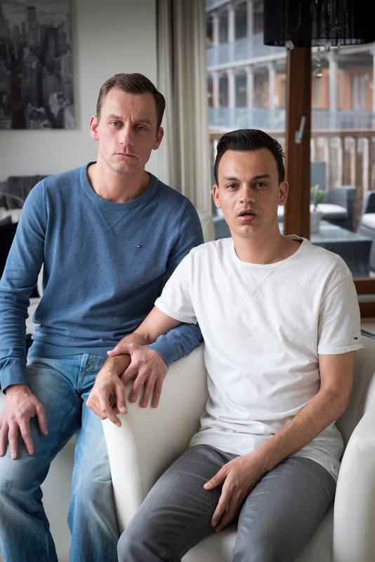 Jasper en Ronnie (rechts)