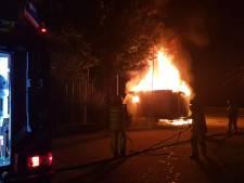 Schaftkeet brandt uit in Tollebeek