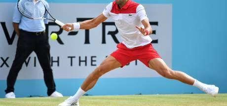 Djokovic komt in vorm voor Wimbledon met finaleplaats Queen's