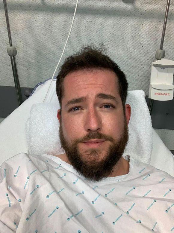 Matthias mocht na een paar uur in het ziekenhuis naar huis, maar zijn wagen is voorgoed vernield.