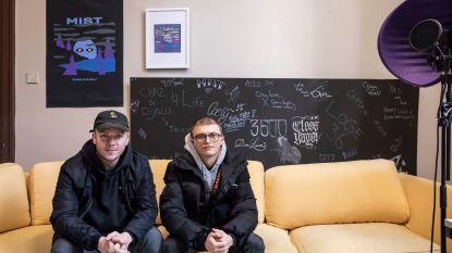 """Muziekstudio in het kunstenhuis """"Jungle"""" voor talentvolle rappers"""