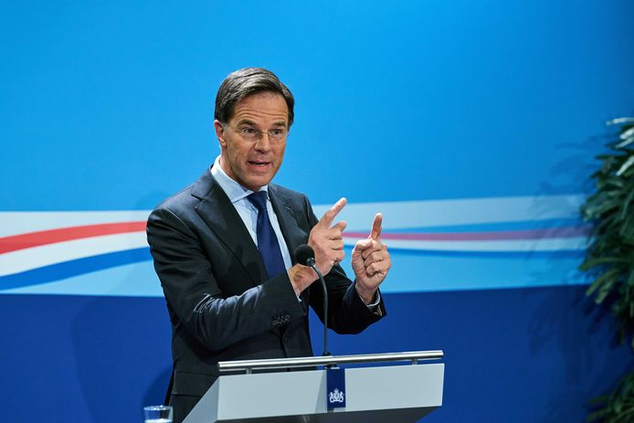 Minister-president Mark Rutte.