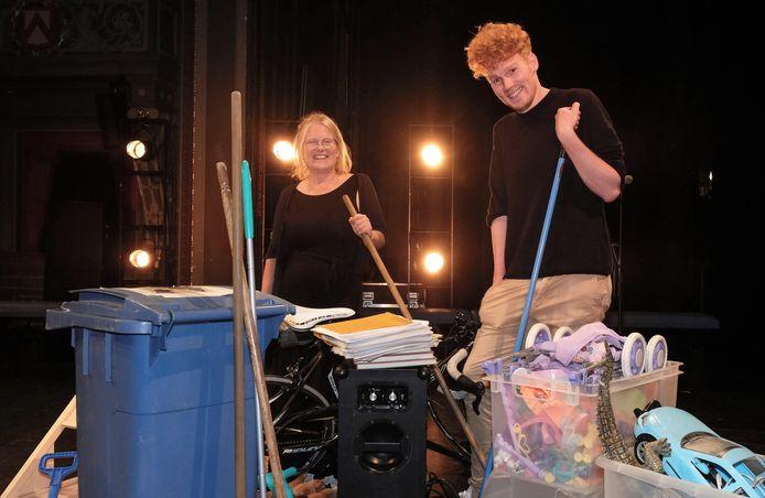 Regisseurs Hilde Vanderstraeten en Arne De Jaegere.