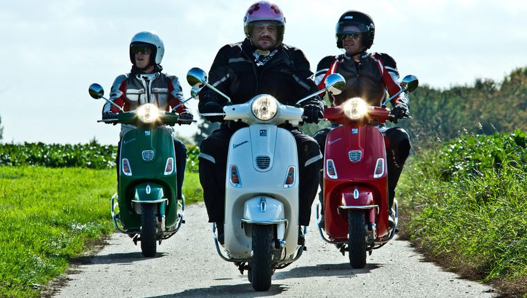 Een scène uit de 'Biker Boys'.
