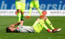 Teleurstelling heerst bij spelers van FC Köln.