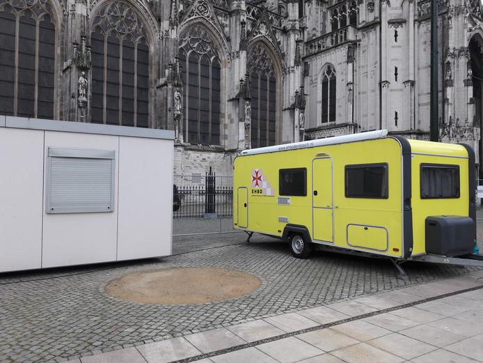 EHBO-opvang op de Bossche Parade.