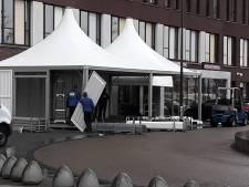 Jeroen Bosch Ziekenhuis plaatst extra tent vanwege corona 'Patiënten vooraf al scheiden'