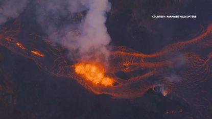 Snel bewegende lavastromen dwingen inwoners van Hawaï om te evacueren
