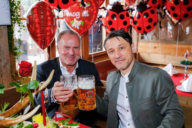 Kovac met Rummenigge.