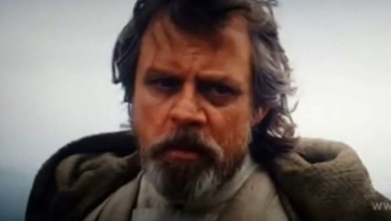 Mark Hamill (Luke Skywalker) Beeld ap