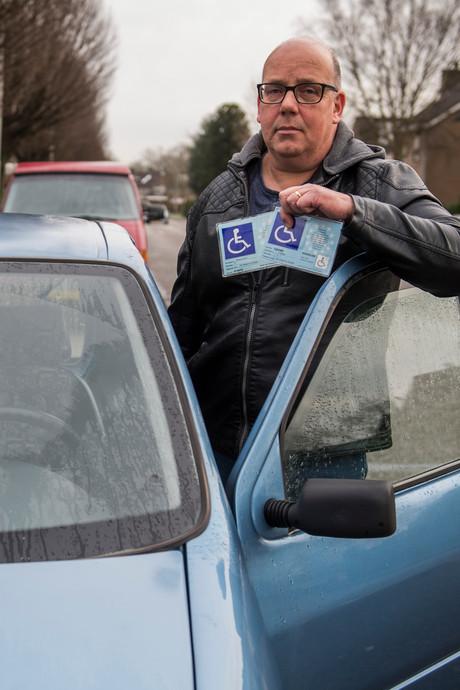 Gehandicapte Peter uit Drunen blij met steun na boete. 'Het ging me vooral om het principe'