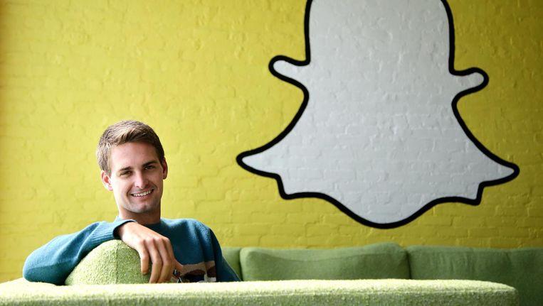 CEO van Snapchat Evan Spiegel. Beeld AP