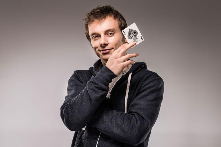 Goochelaar Nicholas Arnst is vaak te zien op VTM