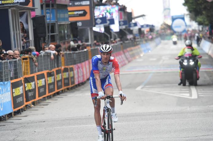 Ramon Sinkeldam eerder deze Giro.