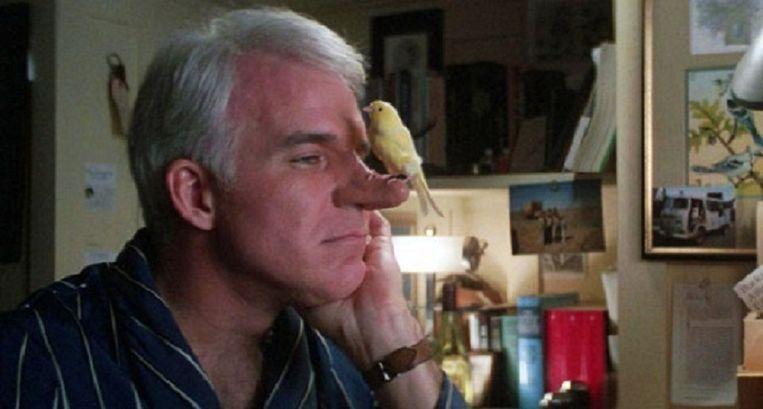 Steve Martin in Roxanne (1987) Beeld Columbia