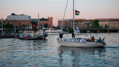 Palestijnen willen zeeblokkade Gaza doorbreken