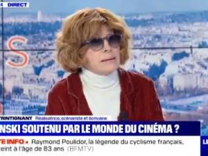 """Nadine Trintignant défend Roman Polanski bec et ongles: """"Un immense metteur en scène"""""""